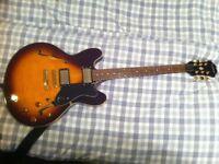 Epiphone ES335 DOT Electric Semi Hollow Guitar - Korean Model - Hardcase