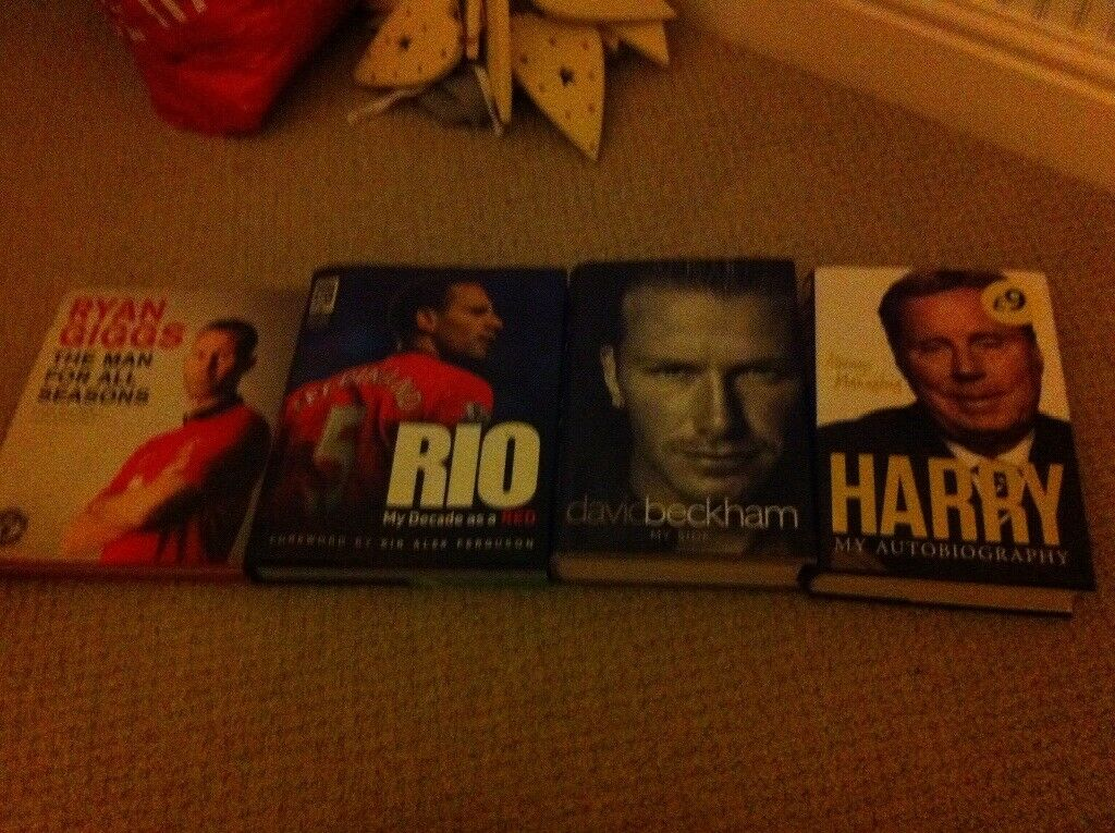 Football autobiographies books