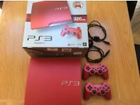 Sony PS3 Limited Edition Scarlet Red 320GB