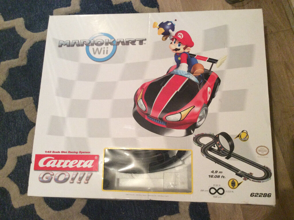 MARIOKART Wii CARRERA GO 4.9M.....16.08 FT RACING SYSTEM