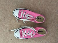 Converse All Star trainers size 3 - for girls or ladies!