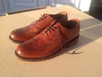 Men's leather shoes by chapman and Moore size eight and a half