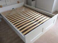 Ikea Double Bed and Memory Foam Mattress £75