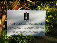 NORFOLK GARDEN SERVICES FENCING LANDSCAPING TREE AND HEDGE WORK