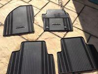 Genuine Ford Kuga x4 car mats and boot liner
