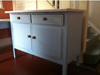 Set of 2 Handcrafted Farmhouse Kitchen Table & Dresser Cupboard for Up-cycling / Might Deliver