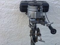 Seagull 40+ outboard engine