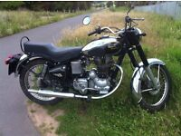 Royal Enfield 350cc Bullit DeLuxe, 1993 ,Drum brake model fast becoming collectable .