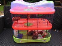 Hamster fantasy cage