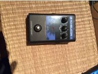 Tc Helicon H1 vocal harmony pedal