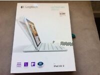 Logitech ultra thin magnetic keyboard/cover for iPad Air 2.