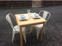 Pine Table ( chairs not for sale )