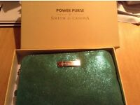 Brand new Smith and Covana leather power purse
