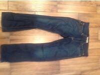 Levi strauss 506 standard jeans 34wx32l as new worn twice