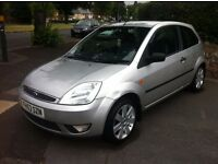 FIESTA ZETEC 1.4L 16v 53 REG FULL MOT, FULL HISTORY, HPi CLEAR, TOP SPEC WITH FULL LEATHER & ALLOYS