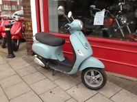 VESPA LX 50cc 10 MONTHS MOT COMES SERVICED & DE RESTRICTED DELIVERY CAN BE ARRANGED