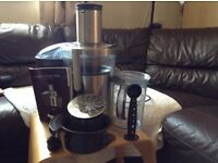 Juicer - SAGE Nutri Juicer Plus by Heston Blumenthal, Very Good Condition