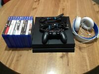 Sony PlayStation 4 – 500GB and controller, wares, game, headset excellent condition