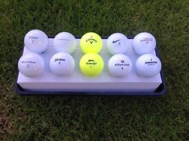 Golf Balls for Sale - all makes from Titleist to Dunlop and prices from £5 per dozen.