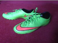 Nike Air, astroturf boots, size UK 9- 9.5