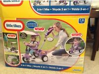 3in1 Trike by Little Tikes-children's bike