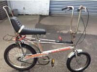 Wanted 1970s Raleigh Chopper bikes