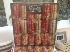 New Quality branded Christmas Crackers