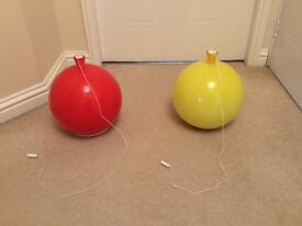 Glass Balloon Light Fitting/Shade