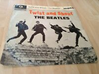 A Record Sleeve/Cover (Only) of Twist and Shout EP 1963 by The Beatle