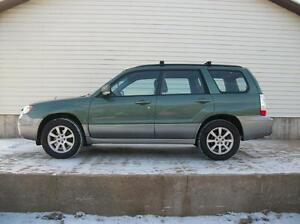 2007 Subaru Forester ALL WHEEL DRIVE WITH ALLOYS