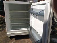 AEG integrated fridge.
