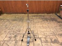 Tama (fully adjustable: hight & baseplate) hi hat stand - very smooth action