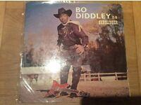 Bo Diddley is a Gunslinger album .Pye Jazz NJL 33 in very very good condition in original sleeve .