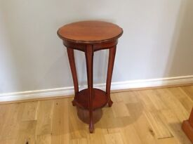Occasional solid cherry wood table