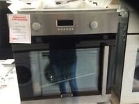 Electric oven new/graded 12 moths gtee