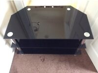 Glass tv stand - 3 tier - excellent condition