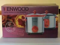 For Sale - Kenwood Curry Cooker and Rice Maker . Unused.