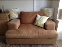 CUDDLE COUCH OVERSIZED SOFA CHAIR, GOOD CLEAN CONDITION.
