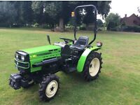 Fieldmaster Compact Tractor with 22hp Mitsubishi engine