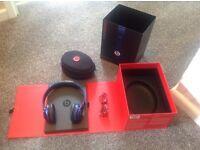 Beats Solo HD by Dr. Dre metallic blue