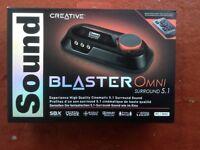 Creative buster omni sound card 5.1