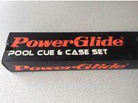 Powerglide Pool Cue & Case set