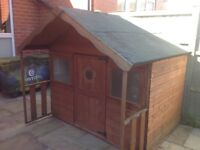 Excellent quality wooden playhouse