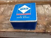 Old gas camping stove