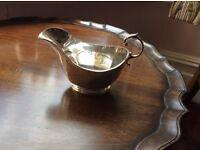 Vintage EPNS cream/sauce jug - elegant traditional design