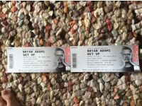 Bryan Adams Tickets 7th July 2017 Southampton x 2 £120.