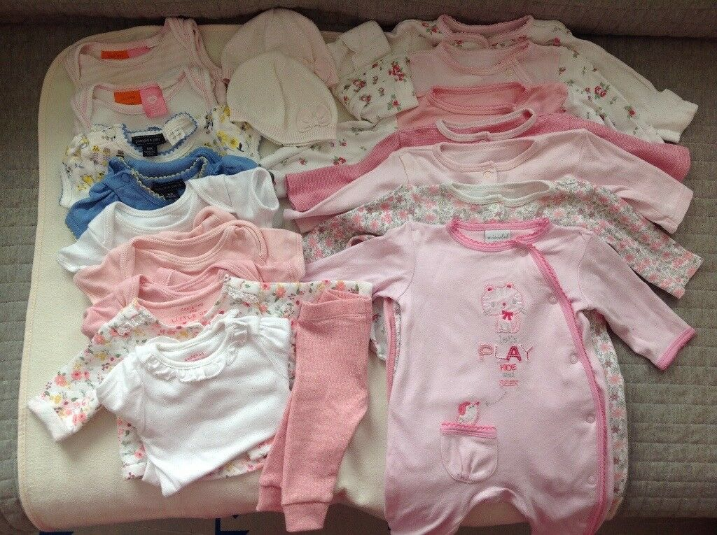 Newborn Baby Girl Clothes Bundle Up To 10lbs In Hove East
