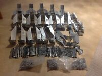 Variety of Simpson Strong Tie Joist Hangers and Coach Screws