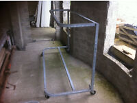 Galvanized sofa stands, commercial grade, Ireland / UK delivery available