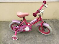 "Pink Sweetie 12"" Kids Bike"